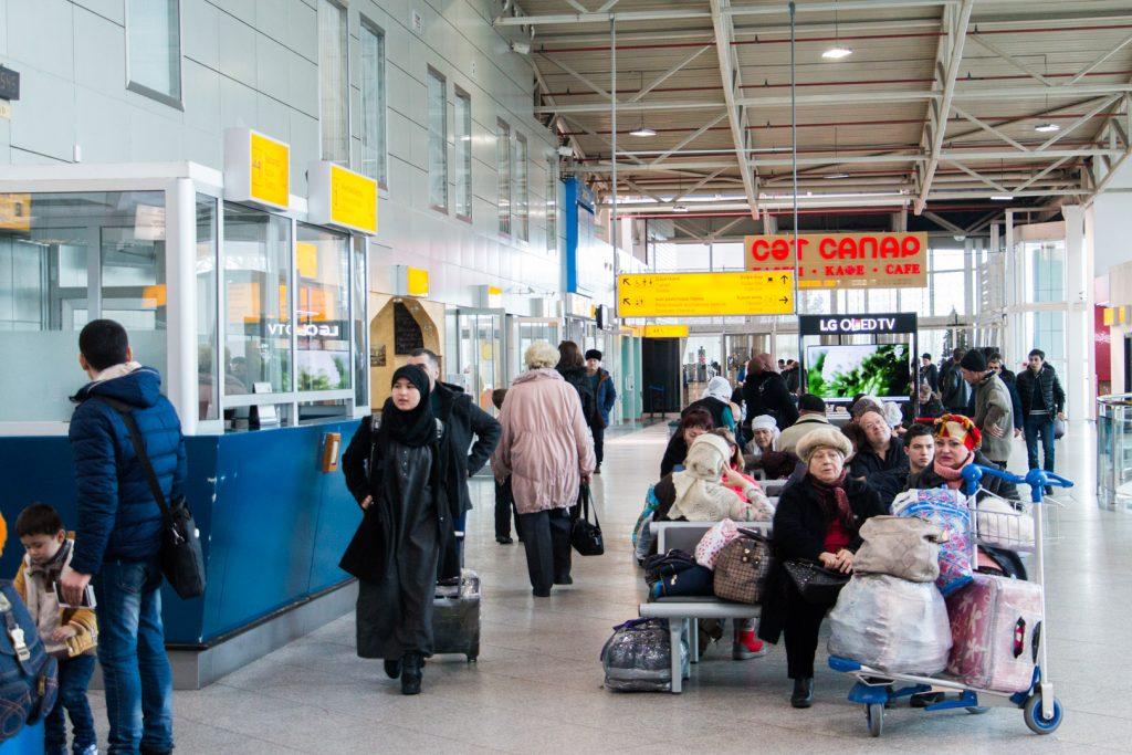 Основной терминал Международный аэропорт Алматы